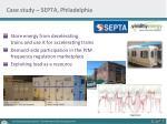 case study septa philadelphia