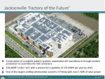 jacksonville factory of the future