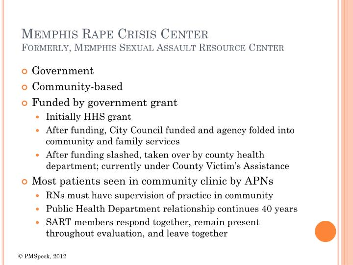 Memphis Rape Crisis Center