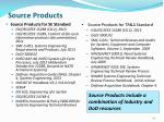 source products