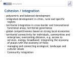 cohesion integration