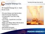 caspian energy co