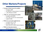 other markets projects