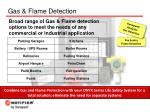 gas flame detection