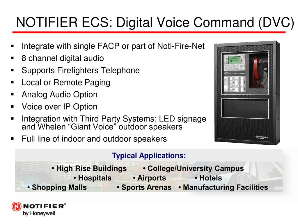 PPT - NOTIFIER ® Fire Alarm & Emergency Communication PowerPoint