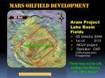 mars oilfield development