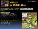 mdp 422 sw bebob aram