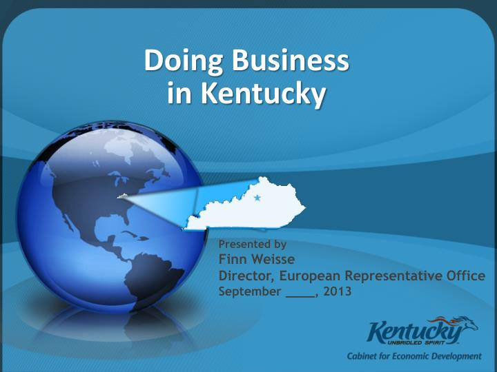 doing business in kentucky n.
