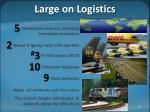 large on logistics