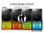 a new world of work