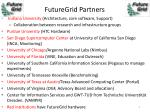futuregrid partners
