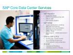 sap core data center services