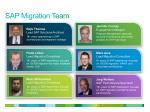 sap migration team