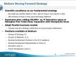 bioduro moving forward strategy