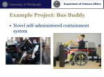 example project bus buddy