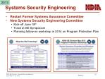 systems security engineering
