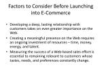 factors to consider before launching into e commerce1