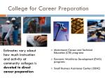 college for career preparation2