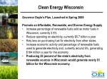 clean energy wisconsin