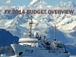 fy 2014 budget overview