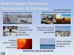 noaa supports businesses communities the future