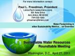 sustainable water resources roundtable meeting1