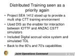 distributed training seen as a priority again