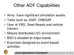 other adf capabilities