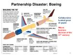 partnership disaster boeing
