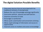 the digital solution possible benefits