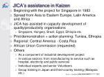 jica s assistance in kaizen