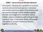 r3867 secure personal wireless network