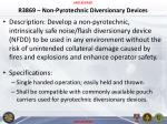 r3869 non pyrotechnic diversionary devices
