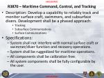 r3870 maritime command control and tracking