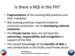 is there a nqi in the ph