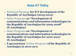 state ict policy