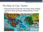 the rise of city states