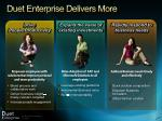 duet enterprise delivers more