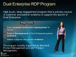 duet enterprise rdp program