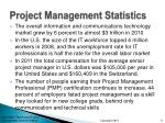 project management statistics