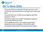 ed to home e2h