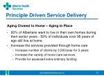 principle driven service delivery1