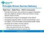 principle driven service delivery2