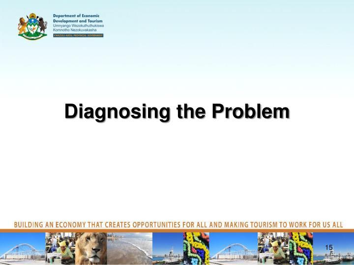 Diagnosing the Problem