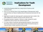 implications for youth development