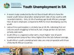 youth unemployment in sa1