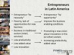 entrepreneurs in latin america