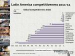 latin america competitiveness 2011 12