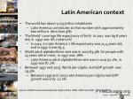 latin american context
