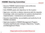 hsems steering committee